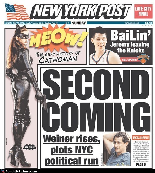 Anthony Weiner,democrats,Media,New York Post,political pictures