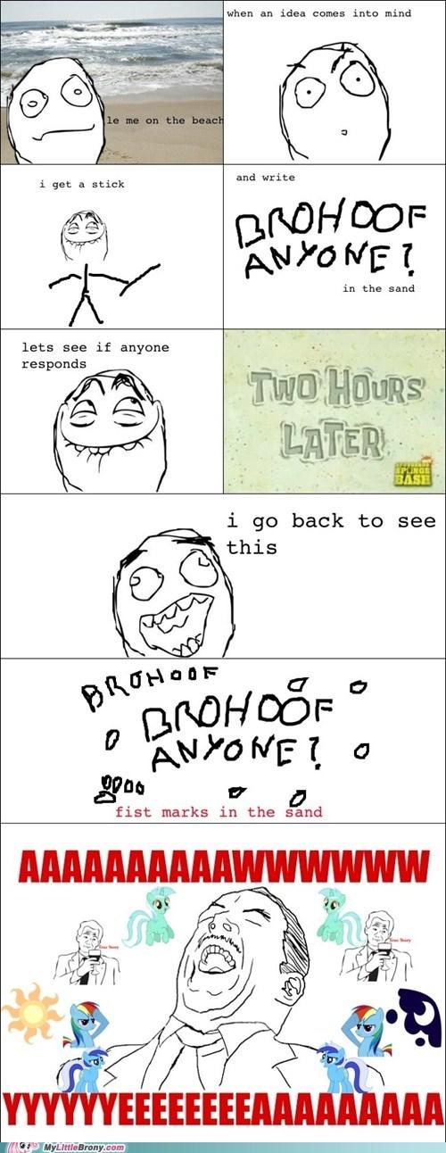 aww yeah brohoof Bronies rage comic Rage Comics - 6430889728