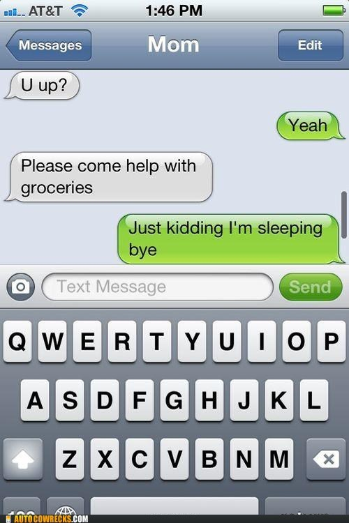 are you awake grocery shopping iPhones sleeping - 6430995200