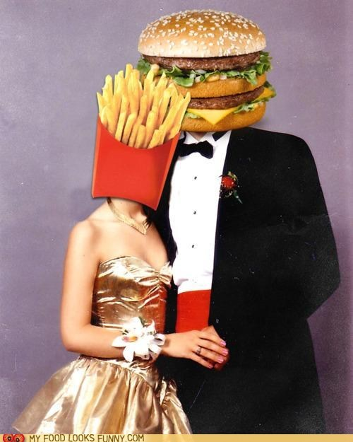 big mac burger fries McDonald's prom