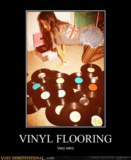 VINYL FLOORING Very retro
