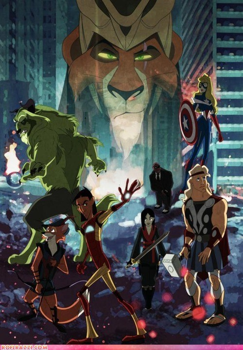 art,awesome,disney,Hall of Fame,summer blockbusters,The Avengers