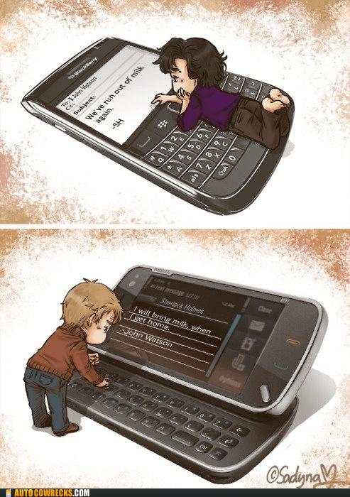 kawaii Sherlock Watson - 6431155968