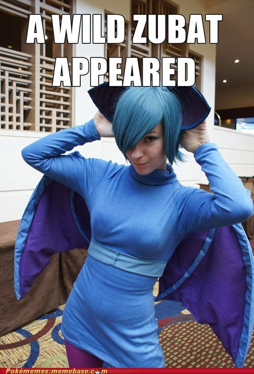 cosplay IRL meme zubat