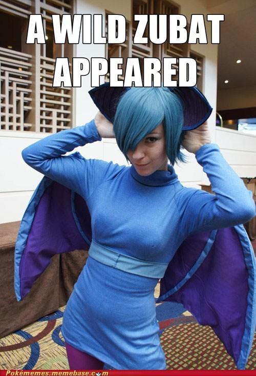 cosplay IRL meme zubat - 6431465472