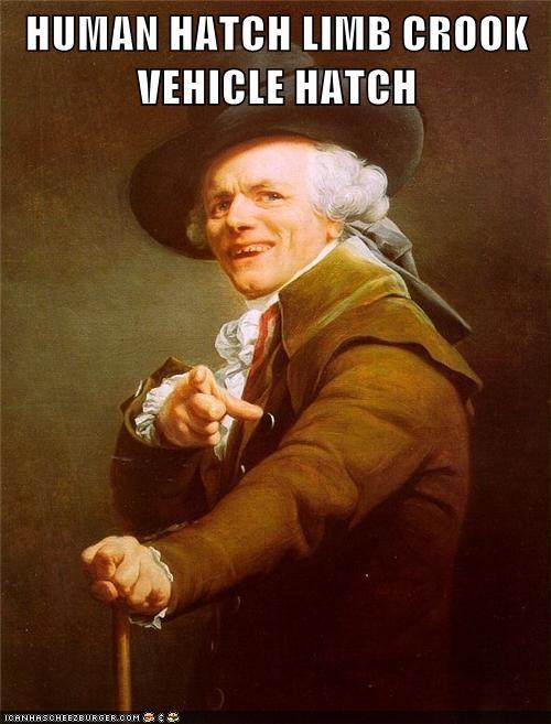 Joseph Ducreux man door hand hook car do man door hand hook car door - 6431466496