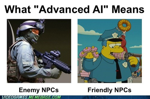 advanced AI,ai,enemies,NPCs,the internets