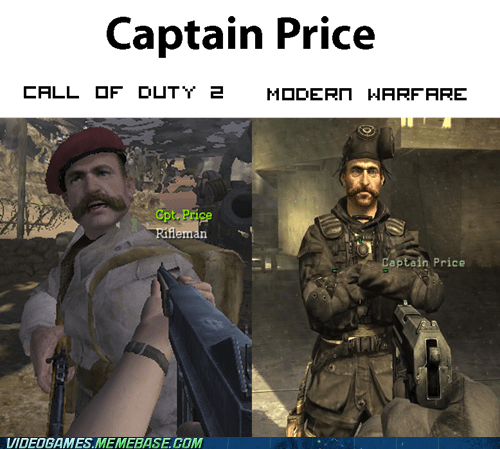 call of duty captain price modern warfare