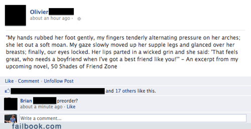 50 shades of grey,dating,erotica,failbook,fifty shades of grey,friendzone,g rated