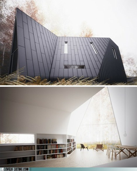 a frame,books,peak,roof,windows