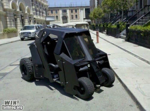 batman,batmobile,golf cart,tumbler