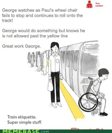ads england George Memes train etiquette - 6431937280