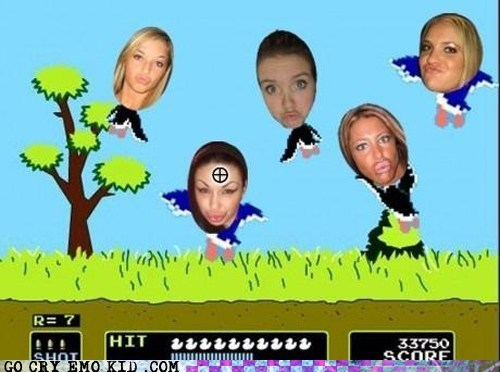 best of week duck face duck hunt game hipsterlulz