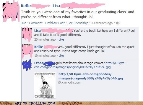 facebook girls Rage Comics some faith in humanity - 6432129280