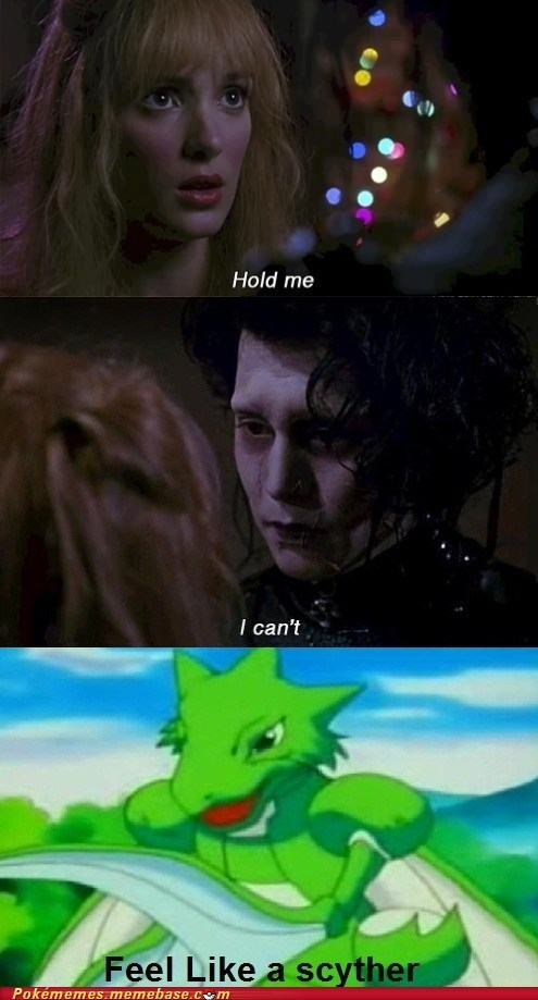comic Edward Scissorhands Movie scyther the feels - 6432452864