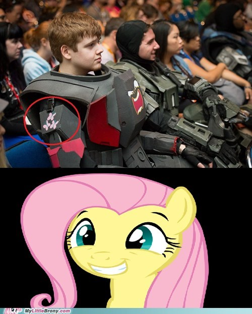 brony,comic con 2012,cosplay,Halo 4,IRL
