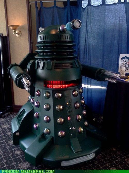 dalek doctor who Fan Art scifi