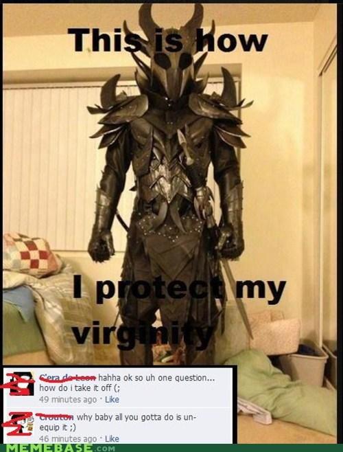 armor,keeper,Memes,virginity