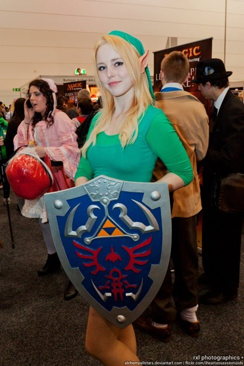 cosplay femme legend of zelda link video games - 6432942592