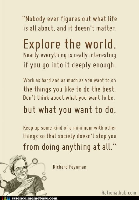 explore,Professors,quote,richard feynman