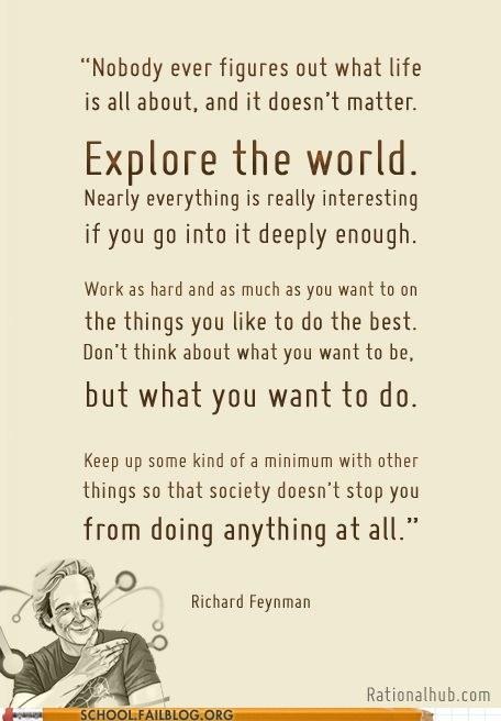 explore the world preach richard feynman Words Of Wisdom - 6433109504