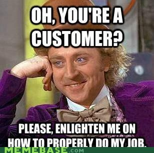 customer enlightenment job Memes Willy Wonka - 6433225216