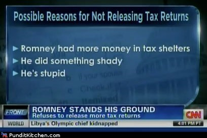 cnn,erin burnett,Media,Mitt Romney,political pictures,taxes
