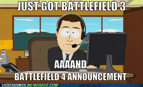 Battlefield 3 Battlefield 4 FPS meme - 6433785600