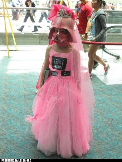 childrens-costumes,darth vader,Hall of Fame,pink,princess