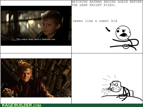 batman,cereal guy,Game of Thrones,joffrey,Rage Comics