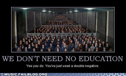 education pink floyd we-dont-need-no-educatio - 6433970432