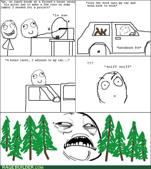 Rage Comics saw sweet jesus have mercy wood - 6434077952