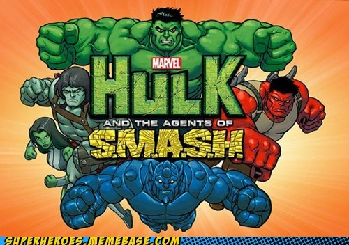 cartoons hulk saturday morning Saturday Morning Cartoons smash wtf - 6434143744