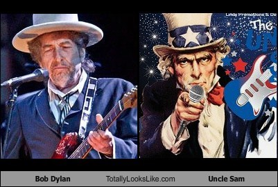 bob dylan,celeb,funny,Music,TLL,Uncle Sam