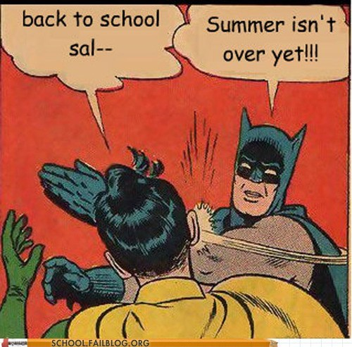 back to school,batman,robin,summer-isnt-over