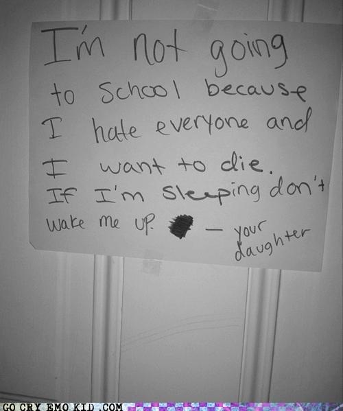 emolulz i hate everyone omg mom sleeping