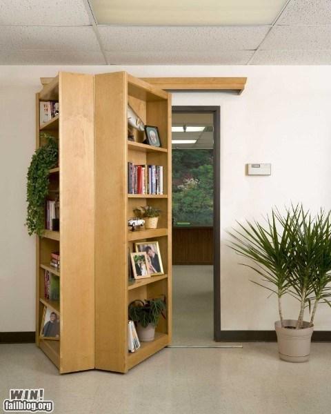 bookshelf design hidden secret - 6434283008