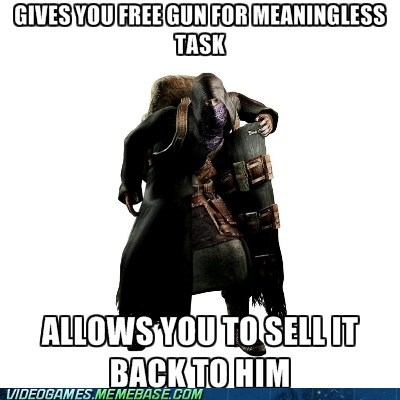 guns,resident evil,resident evil 4,the internets,vendor