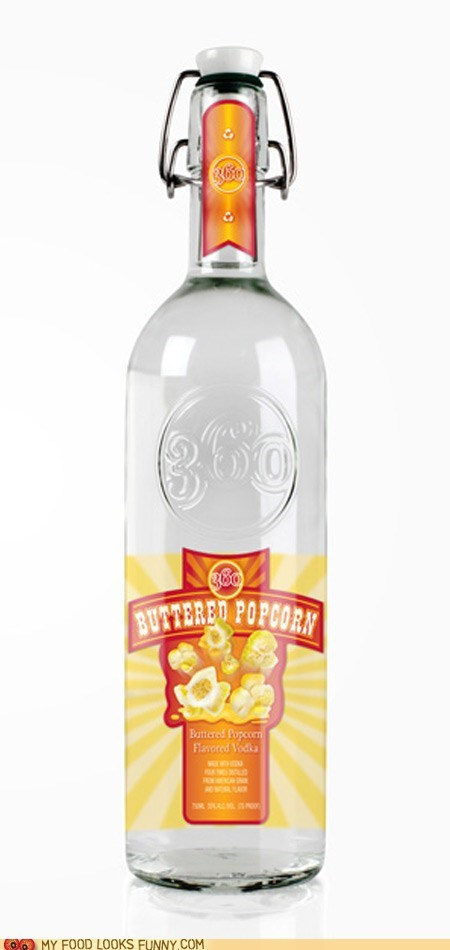 alcohol booze flavor Popcorn vodka - 6434425344