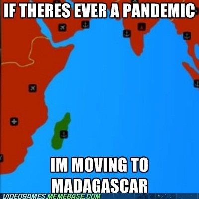 best of week madagascar pandemic PC - 6434461440