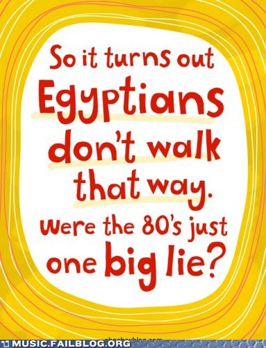 80s,egypt,eighties,walk like an egyptian