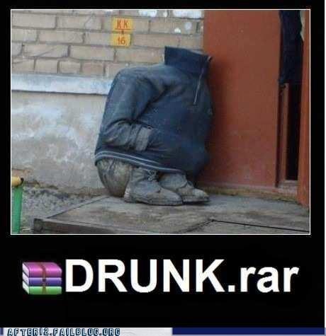 drunk rar,ginrar,rar,WINRAR