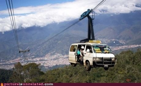 car,lift,safety first,wtf