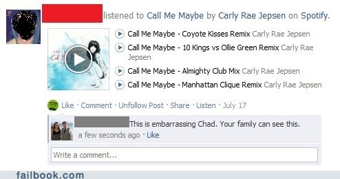 call me maybe,covers,embarrassing,Music,spotify