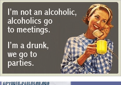 alcoholics,drunks