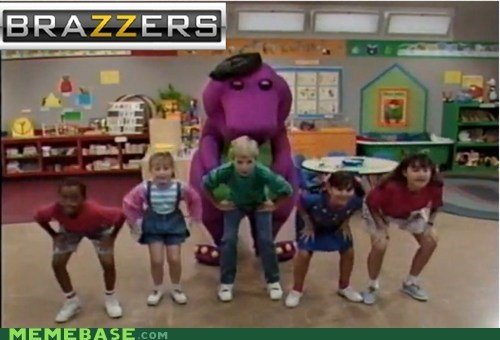 barney brazzers Memes that looks naughty - 6434727936