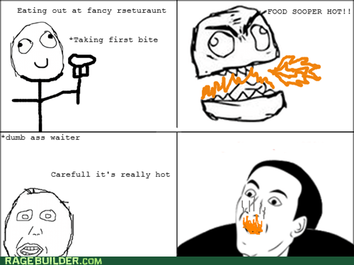 food hot Rage Comics you dont say - 6434825472