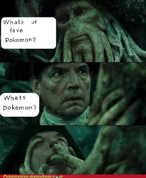 comic davy jones Pirates of the Caribbean Pokémon - 6435642880