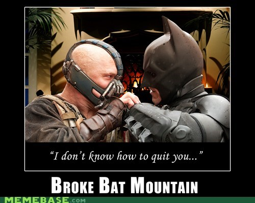 bane batman brokeback mountain Super-Lols - 6435740928