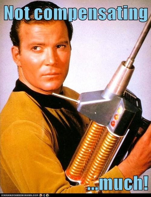 Captain Kirk compensation gun much Shatnerday Star Trek William Shatner - 6435849728